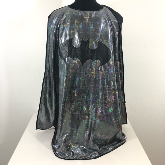 Six Flags Other - Batman One Size Six Flags Holo All Over Print Cape